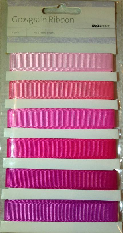 KaiserCraft - Grosgrain Ribbon Packs