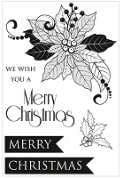 Kaiser - Christmas Carol Collection - Clear Stamp Set