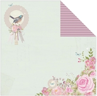 Kaisercraft - True Romance Collection - 12x12 Double Sided Paper - Faithful