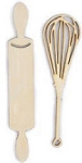 Kaiser wood flourish - Kitchen Utensils