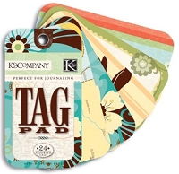 K & Co. - Tag Pad - Happy Trails