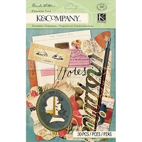 K & Co. Brenda Walton Scribe Collection - Ephemera Pack