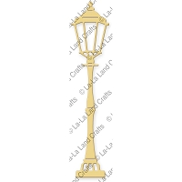 La-La Land Crafts - Die - Lamp Post