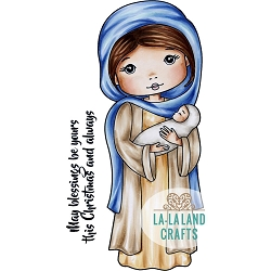 La-La Land Crafts - Rubber Cling Stamp - Mary Molli