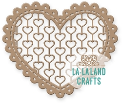 La-La Land Crafts - Die - Lacy Heart