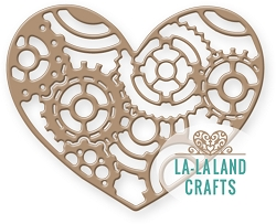 La-La Land Crafts - Die - Gears Heart