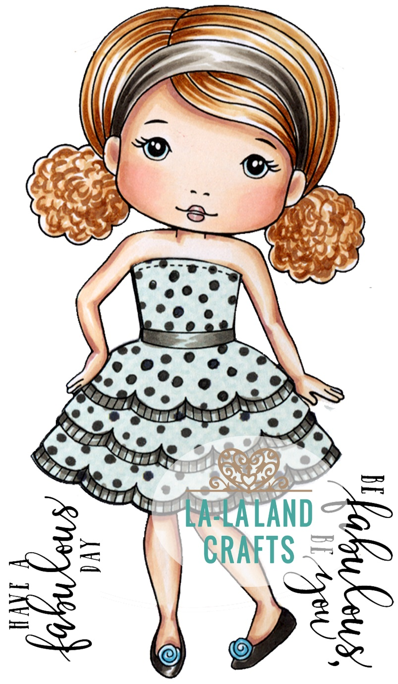 La-La Land - new Marci & Friends cling stamps & Dies