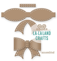 La-La Land Crafts - Die - Stitched Bow