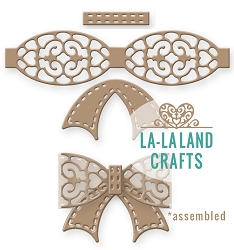 La-La Land Crafts - Die - Filigree Bow