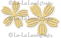 La-La Land Crafts - Die - Notched Flowers (set of 2)
