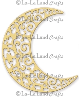 La-La Land Crafts - Die - Filigree Moon