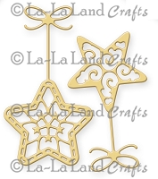 La-La Land Crafts - Die - Hanging Stars (set of 2)