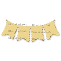 La-La Land Crafts - Die - Scalloped Trim Banner