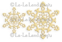 La-La Land Crafts - Die - Ornate Snowflakes (set of 2)