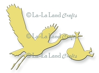 La-La Land Crafts - Die - Stork
