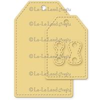 La-La Land Crafts - Die - Stitched Tags