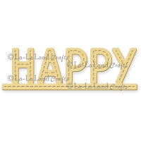 La-La Land Crafts - Die - Happy Stitched