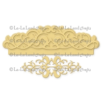 La-La Land Crafts - Die - Filigree Elements Border Set