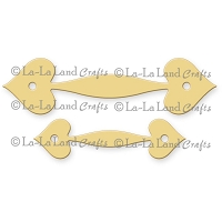 La-La Land Crafts - Die - Heart Handles