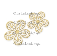 La-La Land Crafts - Die - Filigree Flowers