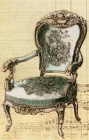 LaBlanche Silicone Stamp-Antique Chair