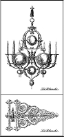 LaBlanche - Silicone Stamp - Hinge & Chandelier