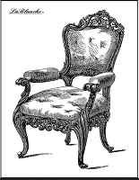 LaBlanche - Silicone Stamp - Armchair