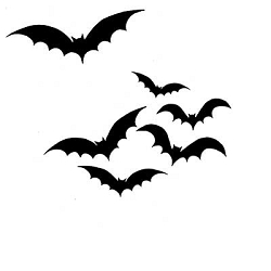 Lavinia Stamps - Clear Stamp - Bats