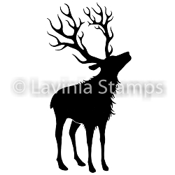 Lavinia Stamps - Clear Stamp - Reindeer (large)