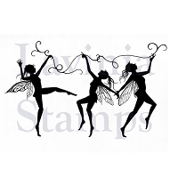Lavinia Stamps - Clear Stamp - Dancing Til Dawn Fairies