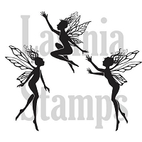 Lavinia Stamps - Clear Stamp - 3 Small Dancing Fairies