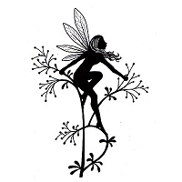 Lavinia Stamps - Clear Stamp - Flower Fairy