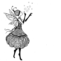 Lavinia Stamps - Clear Stamp - Fairy Giselle