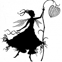 Lavinia Stamps - Clear Stamp - Fairy Harietta Silhouette