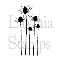 Lavinia Stamps - Clear Stamp - Silhouette Thistle