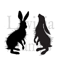 Lavinia Stamps - Clear Stamp - Woodland Hares