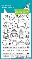 Lawn Fawn - Clear Stamps - Happy Howloween
