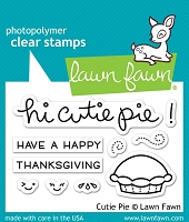 Lawn Fawn - Clear Stamps - Cutie Pie
