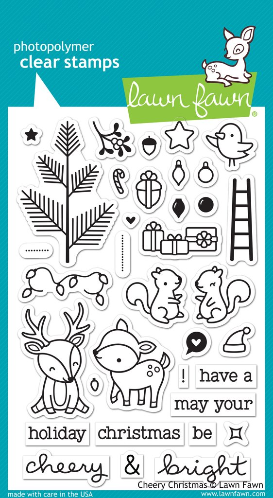 lawn fawn - clear stamps