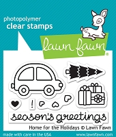 Lawn Fawn - Clear Stamps - Home For The Holidays
