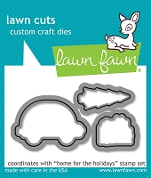 Lawn Fawn - Die - Home For The Holidays
