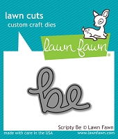 Lawn Fawn - Die - Scripty be