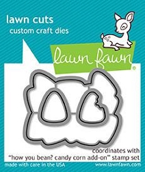 Lawn Fawn - Die - How You Bean? Candy Corn Add-On