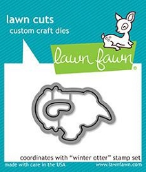 Lawn Fawn - Die - Winter Otter