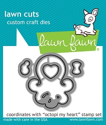 Lawn Fawn - Die - Octopi My Heart