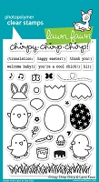 Lawn Fawn - Clear Stamps - Chirpy Chirp Chirp