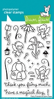 Lawn Fawn - Clear Stamps - Fairy Friends