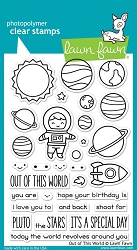 Lawn Fawn - Clear Stamps - Out Of This World