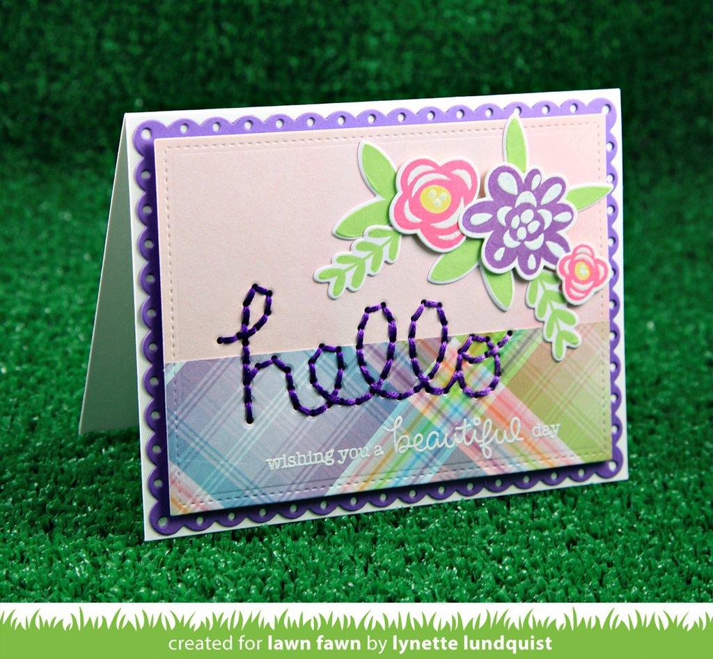 Lawn Fawn Die Fab Flowers