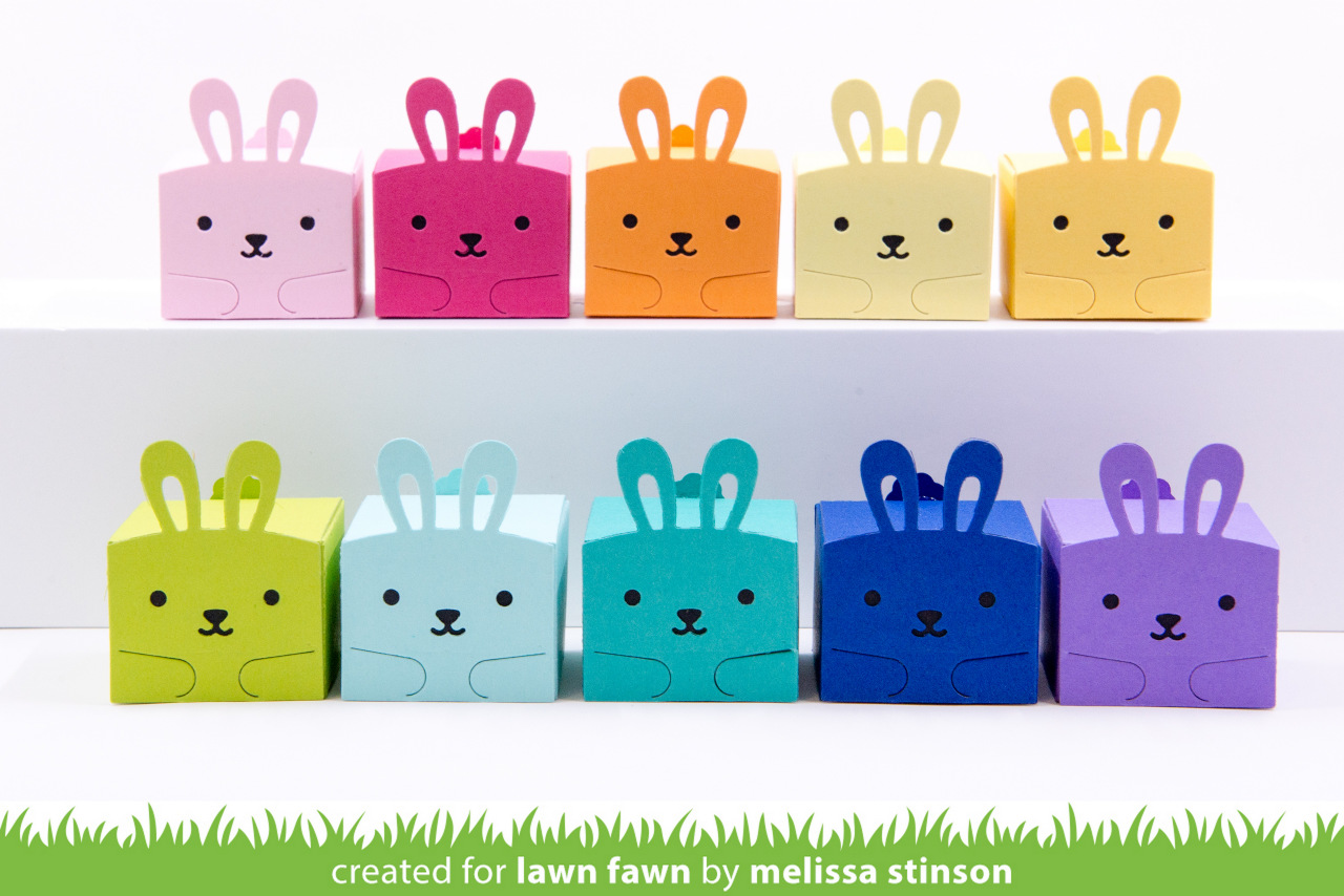Lawn Fawn Tiny Gift Box Bunny Add-On에 대한 이미지 검색결과